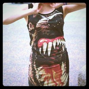 Drop Dead wolf dress
